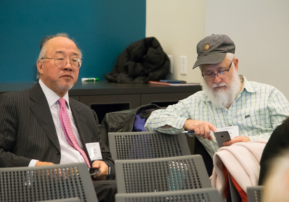 Stephen Chang, ABCT and Chuck Gray, Novo Nordisk