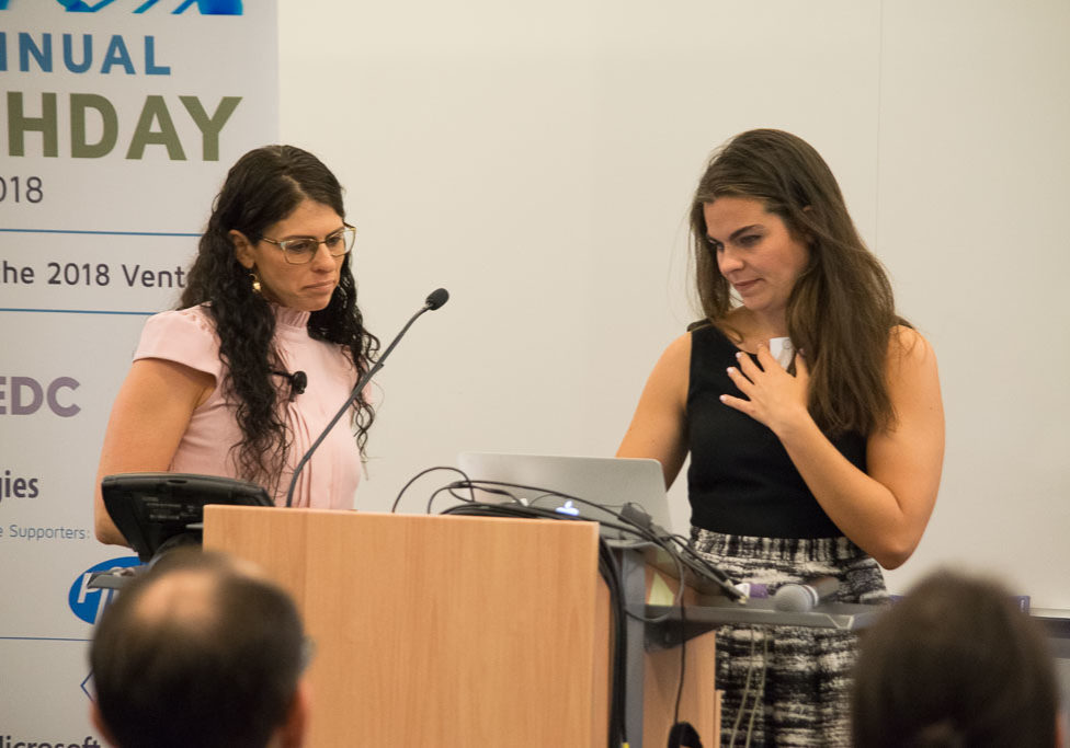 Adi Wallach, MyReLeaf and Sophia Cacciatore, NYCEDC