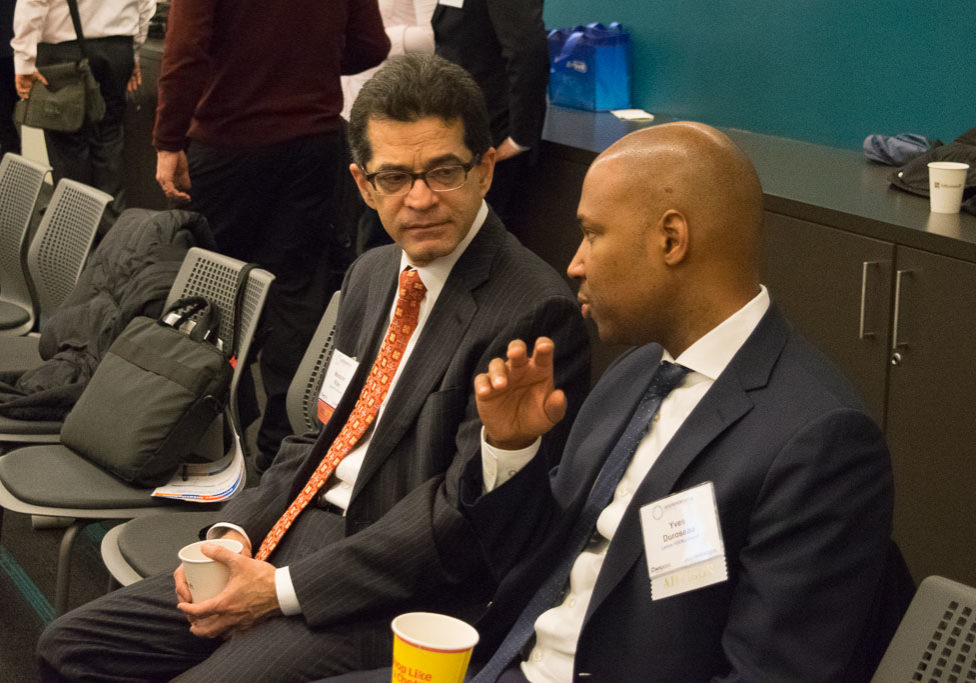 Mansoor Khan, Candor IP Ventures and DR. Yves Duroseau, Lenox Hill - Northwell