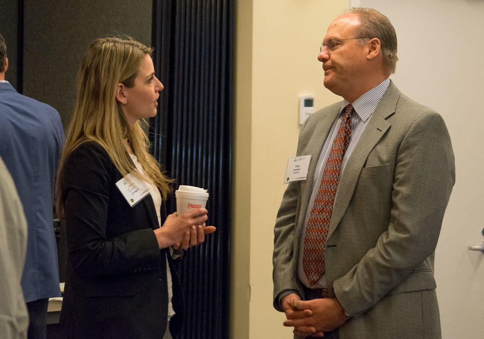 Jessica Dodge, CTNext and Clay Larsen, Vesselon